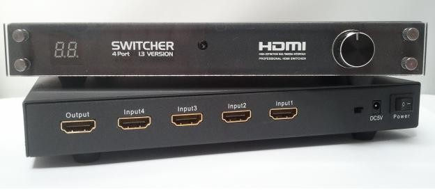 vier poorts hdmi switch