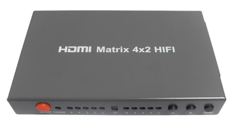 HDMI matrix 4*2