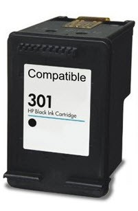 HP 301XL inktcartridge zwart (CH563EE)