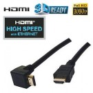 HDMI 1.4 kabel haaks met ethernet high speed 1,5M