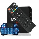 MX Q pro tv box kodi mediaplayer amlogic s905x 2GB Ram 8GB Rom settop box met toetsenbord
